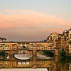 Ponte Vecchio by Mick Burkey