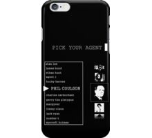 His First Name is Agent iPhone Case/Skin