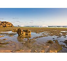 St Paul's beach at low tide, Sorrento Photographic Print