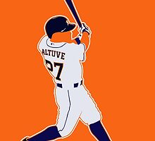 Jose Altuve by BeinkVin