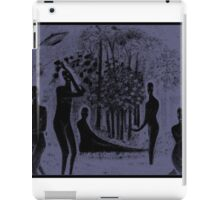 charcoal valley iPad Case/Skin