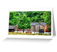Old Barn~ Greeting Card