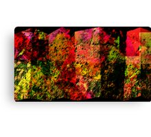 COLORED SCREEN PANELS Canvas Print