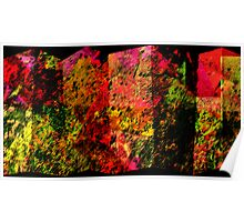 COLORED SCREEN PANELS Poster