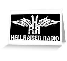 Hellraiser Radio Wing Logo Greeting Card