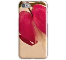 Bleeding Heart Macro iPhone Case/Skin