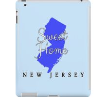 New Jersey Sweet Home New Jersey iPad Case/Skin