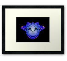 Blue Nicee Framed Print
