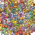 Pokemons by Miltossavvides