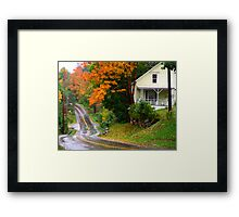Other Side of the Road Framed Print