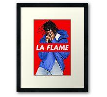 Travi$ Scott 'The Prayer' - La Flame Framed Print