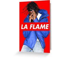 Travi$ Scott 'The Prayer' - La Flame Greeting Card