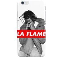 Travi$ Scott 'The Prayer' - BW/La Flame iPhone Case/Skin