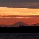 Egyptian like sunset over Strangford Lough - NI by SNAPPYDAVE