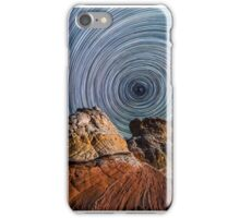 White Pocket Star Trails iPhone Case/Skin