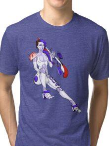 One Hot Robot - Courtney Tri-blend T-Shirt
