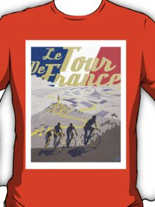 Le Tour de France retro poster T-Shirt