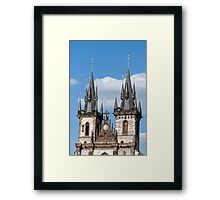 Church of our Lady. Framed Print