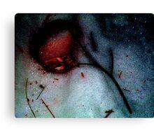 Bleeding Love..... Canvas Print