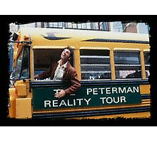 Seinfeld Peterman Reality Bus Tour Shirt Photographic Print