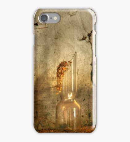 24.3.2015: Broken Glass on Mantelpiece iPhone Case/Skin
