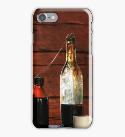 24.3.2015: Old Glass Bottles iPhone Case/Skin
