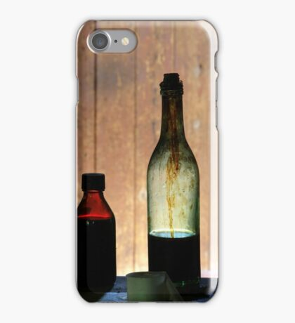24.3.2015: Old Glass Bottles II iPhone Case/Skin