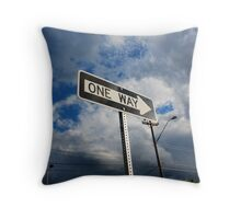 Restricted Navigation Throw Pillow