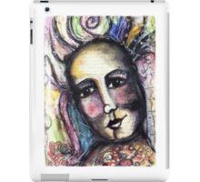 She found joy in her heart. iPad Case/Skin