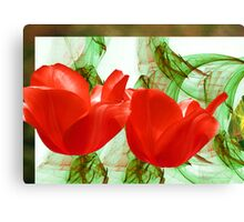 Red for Valentine's  Canvas Print