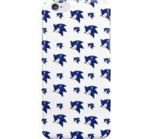 Sonic the hedgehog (2) iPhone Case/Skin