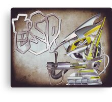 """ESP....Robo-boys adventures into hyper...reality""....... Canvas Print"