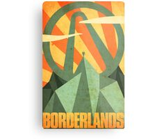 Borderlands Metal Print