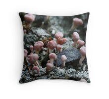 Lichens 3356 Throw Pillow