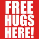 Free Hugs (White) by forcertain