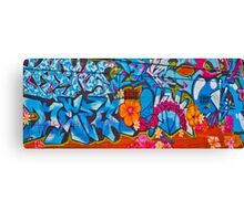 Oxford Street Graffiti Canvas Print