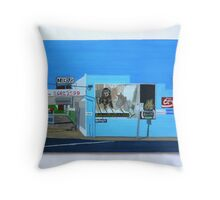 Side of the Milk Bar Throw Pillow