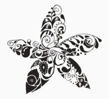 Les Fleurs One Piece - Short Sleeve
