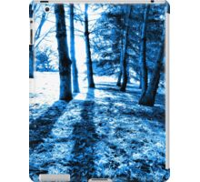 Blue Forest 2 Natural Light and Shadow iPad Case/Skin
