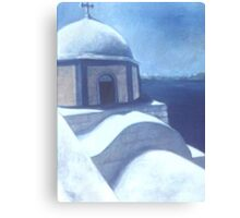 GREEK VIEW(C1997) Canvas Print