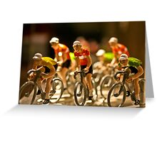 The Porcelain Peloton Greeting Card