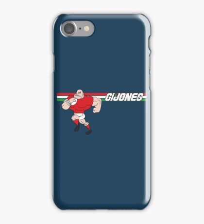 G I JONES iPhone Case/Skin