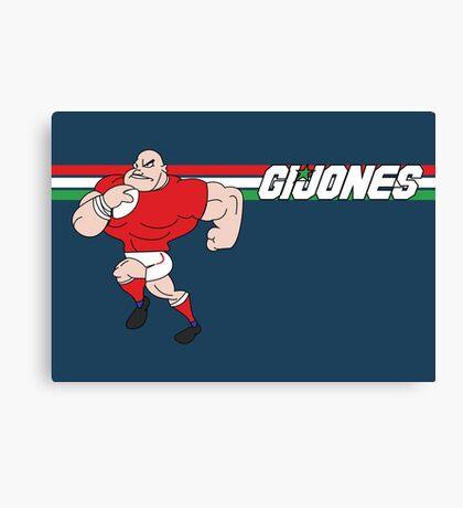 G I JONES Canvas Print