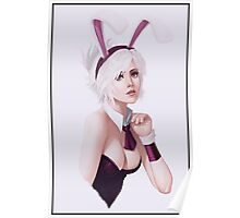 Bunny Riven League of Legends Art Poster