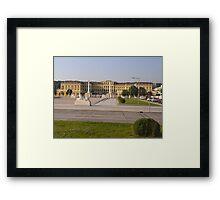 Schonbrunn Palace, Vienna, Austria Framed Print