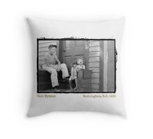 Show Us Your Tonsils (Amazing Archives) Throw Pillow