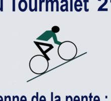 Col du Tourmalet Road Sign Cycling Tour de France Sticker