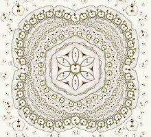 Apple Mandala by NeishArt