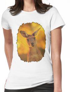 Kangaroo - Western Australia Womens Fitted T-Shirt