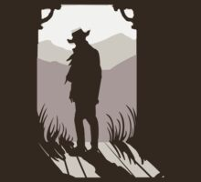 Old Western Silhouette by Megan Glosser